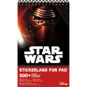 Star Wars 7 Stickerland Pad