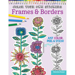 Color Your Own Sticker Frames & Borders - Design Originals