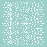 """Lace - Template 12""""X12"""""""