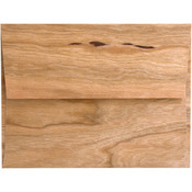 "Cherry Wood - BARC Wood Veneer A2 Envelopes 4.375""X7.75"" 5/Pkg"