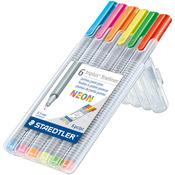 Neon - Triplus Fineliner Pens 6/Pkg