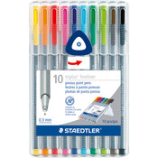 Multi - Triplus Fineliner Pens 10/Pkg