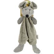 Suede Gray Mouse - Nandog My BFF Plush Dog Toy