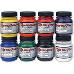 Primary, Secondary, Black & White - Jacquard Dye-Na-Flow Liquid Color 2.250z 8/Pkg