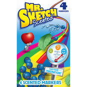 Chisel - Mr.Sketch Scented Marker Set 4/Pkg