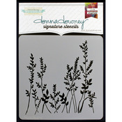 "Grass - Donna Downey Signature Stencils 8.5""X8.5"""