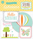 Spring Ephemera Pack - Echo Park