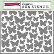 Butterflies Stencil - Echo Park