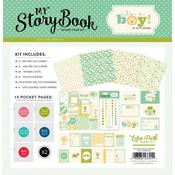 Its A Boy Pocket Page Kit - Carta Bells