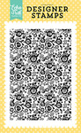 Flower Garden Background Stamp - Echo Park