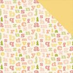 Alphabet Paper - It's A Girl - Carta Bella