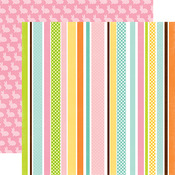 Easter Stripe Paper - Easter - Echo Park