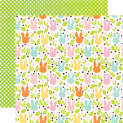 Field Of Cottontails Paper - Easter - Echo Park