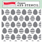 Easter Eggs Stencil - Echo Park