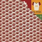 Small Footballs Paper - Football - Echo Park