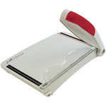 "Grey/Red - Tonic Guillotine Comfort Paper Trimmer 8.5"" By Tim Holtz"