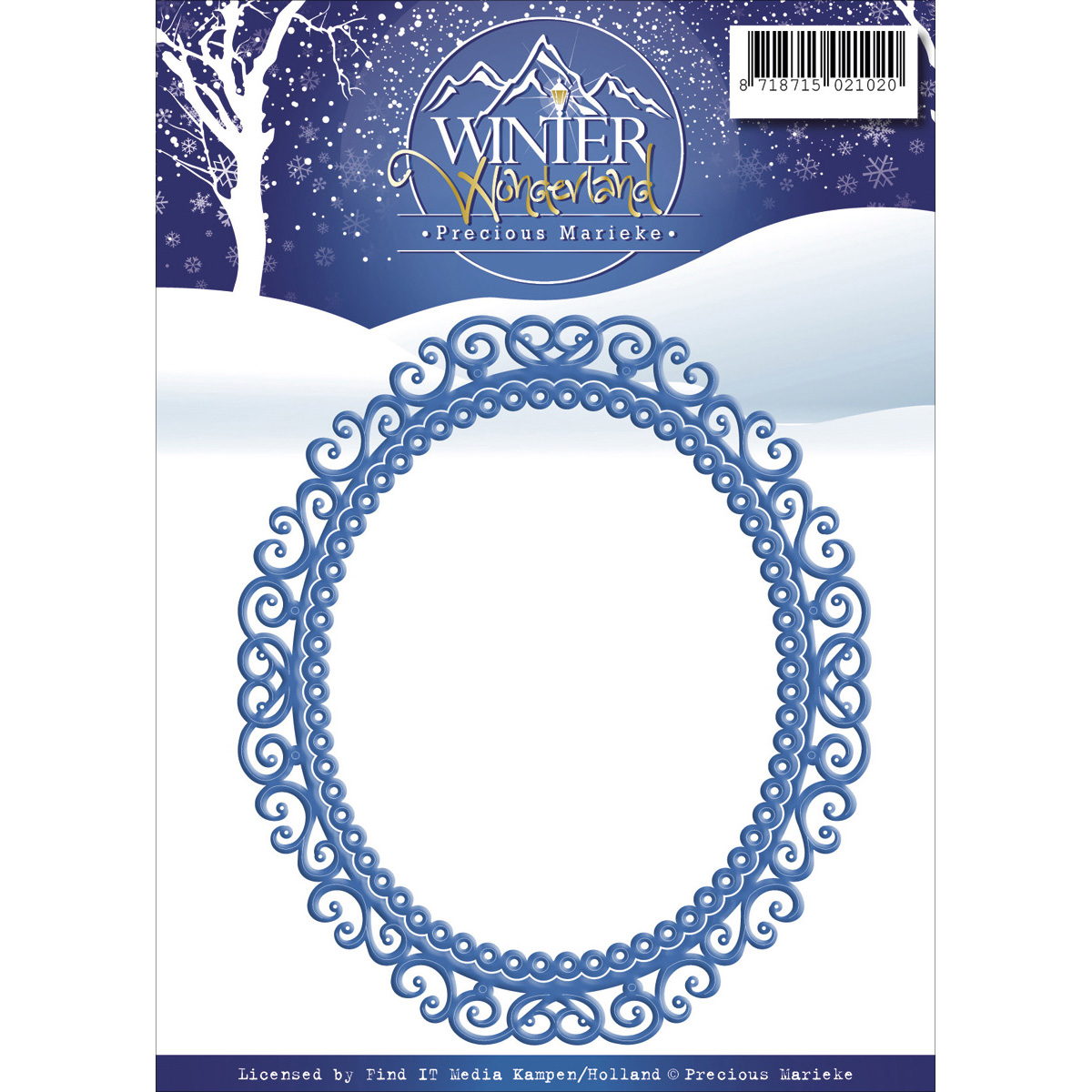 Wondrous Frame - Find It Trading Precious Marieke Winter Wonderland Die