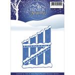 Wooden Fence - Find It Trading Precious Marieke Winter Wonderland Die