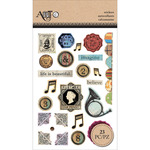 Inspire Vintage Stamps - Momenta Foam Stickers