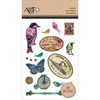 Inspire Vintage Birds - Momenta Foam Stickers