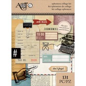 Office Space - Art-C Ephemera Collage Pack 131/Pkg