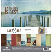 "Lake Life - Paper House Paper Crafting Kit 12""X12"""
