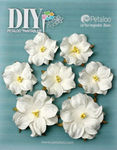 Mini White Rose Paintables - Petaloo