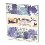French Riviera 6 x 6 Paintables Paper Pad - Prima