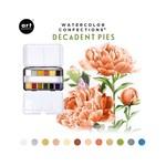 Decadent Pies Watercolor Confections - Prima