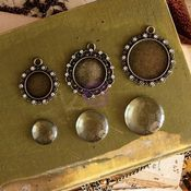 Bourdeilles Vintage Trinkets - Memory Hardware - Prima