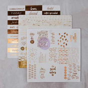 Foil Washi Stickers, Set 3 - Prima