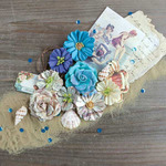 Vintage Quarter French Riviera Flowers - Prima