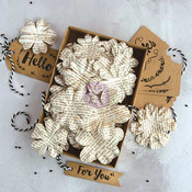 Beauty Boxed Flower & Tag Set - Prima