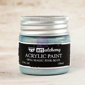 Pink Blue Acrylic Paint Opal Magic  - Art Alchemy - Finnabair