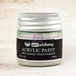 Violet Green Acrylic Paint Opal Magic  - Art Alchemy - Finnabair