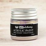 Violet Gold Acrylic Paint Opal Magic  - Art Alchemy - Finnabair