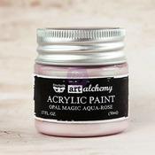 Aqua Rose Acrylic Paint Opal Magic  - Art Alchemy - Finnabair