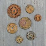 Rustic Washers - Mechanicals - Prima