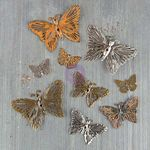 Grungy Butterflies - Mechanicals - Prima