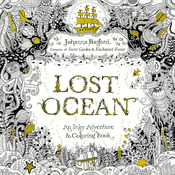 Lost Ocean Coloring Book - Random House Books