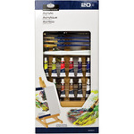"Acrylic ""H"" Set 20pc - Easel Art Set Small"