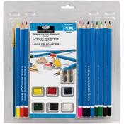 Watercolor Pencils 19pc - Clamshell Art Sets