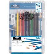 Watercolor Pencil 13pc - Clearview Mini Art Set