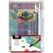 Watercolor Art 18pc - Clearview Mini Art Set
