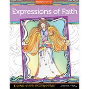 Expressions Of Faith Coloring Book - Design Originals