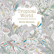 Tropical World Coloring Book - Lark Books