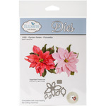 Garden Notes Poinsettia - Elizabeth Craft Metal Die