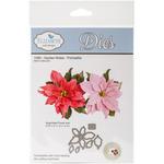 Garden Notes Poinsettia - Elizabeth Craft Metal Die