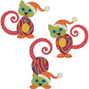 Santa's Little Helpers - Cat Set - Urban Elementz Fusible Applique