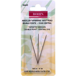 Size 24 3/Pkg - Double Point Central Eye Tapestry Needle
